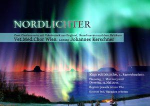Nordlichter Konzert 2013 Flyer