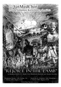 Rejoice the Lamb Flyer 2005