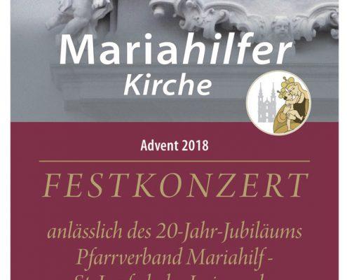 Jubiläumskonzert 11. Dezember 2018