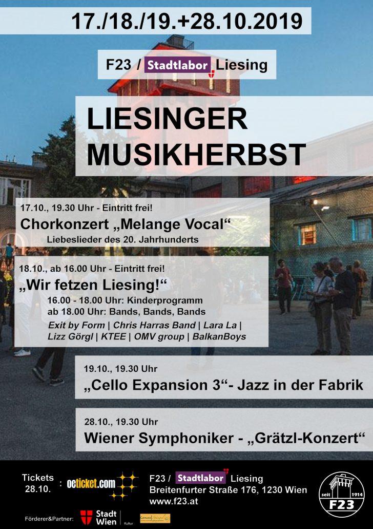 Liesinger Musikherbst Programm